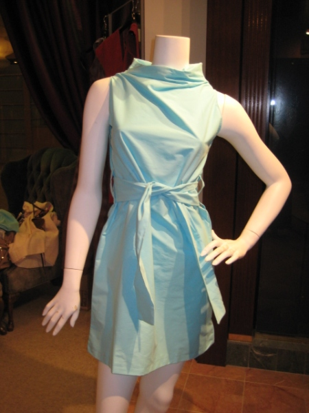 Baby Blue Nelli Dress, $150.  A shorter, sassier version of last fall's popular Margo!