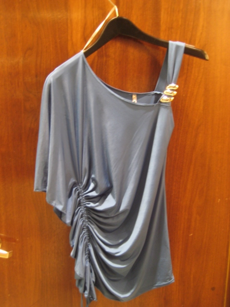 Blue/Grey top, $59