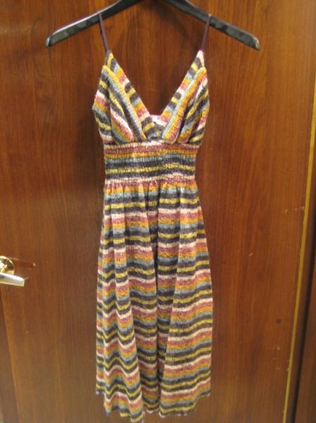Lightweight summer sweater dress, $79