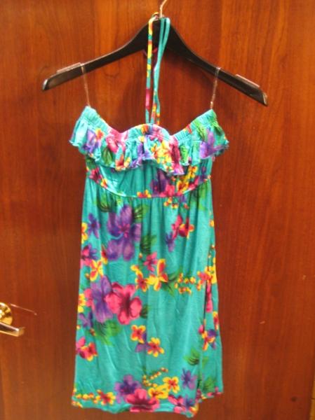 Knit halter dress, $49