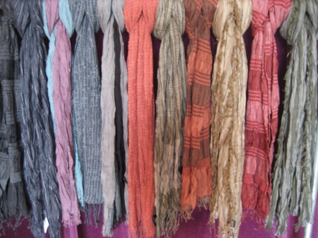We have dozens of scarves for $30!