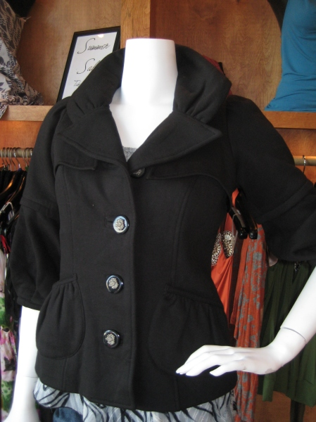 Vava by Joy Han knit jacket, $155.