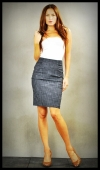 Black pencil skirt, $68.  We had something really similar last fall and it sold out very quickly!
